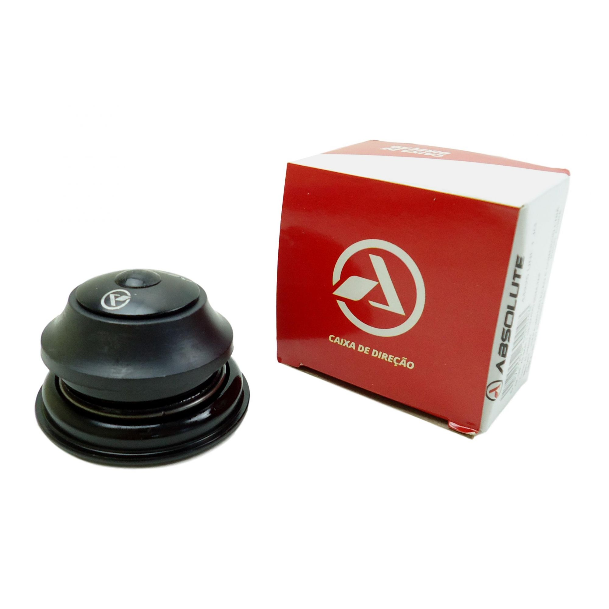 Caixa de Direção Absolute Tapered Semi-Integrada Cônica 55mm e 44mm Com Esferas Para First Athymus TSW Audax