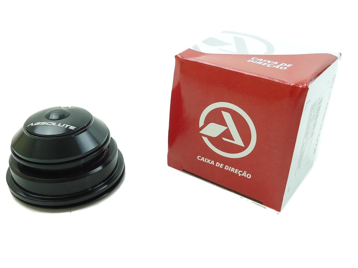 Caixa de Direção Absolute Tapered Semi-Integrada Cônica 55mm e 44mm Com Rolamentos Para First Athymus TSW Audax