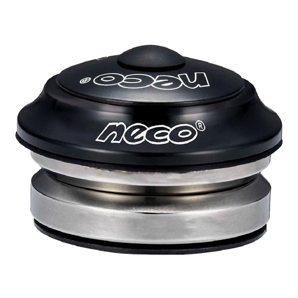 """Caixa de Direção Neco H52 Reta 1 1/8"""" Integrada 42/42mm Com Rolamentos"""