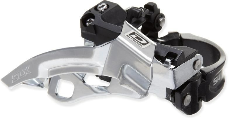 Cambio Dianteiro Bicicleta Shimano Deore SLX M670 Dual Pull 3x10 10 velocidades