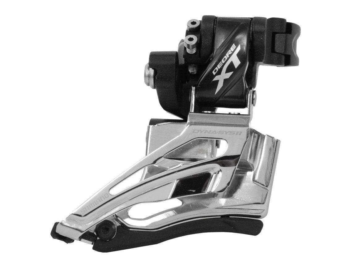 Cambio Dianteiro Shimano Deore XT M8025 2x11 34.9 Dual Pull M8000