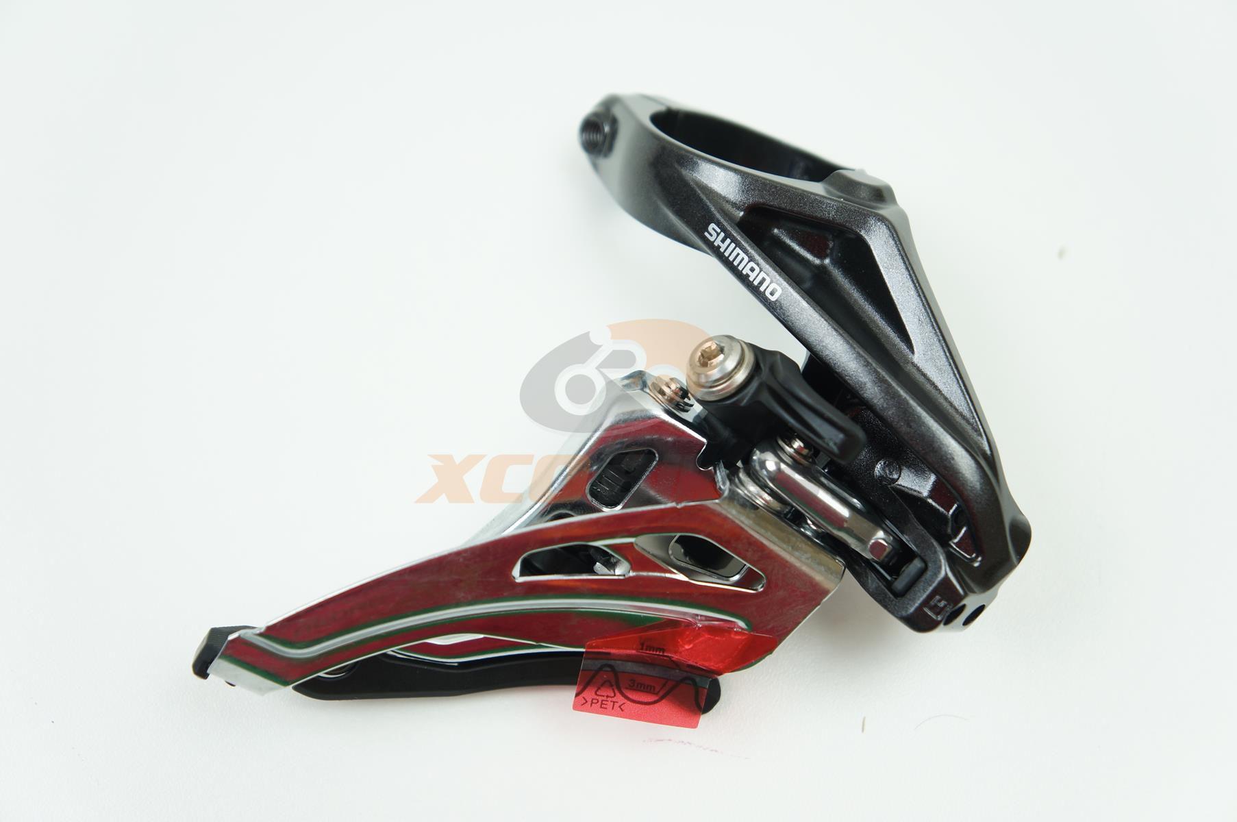 Cambio Dianteiro Shimano XT FD-M8020 2x11 Side Swing 34.9mm
