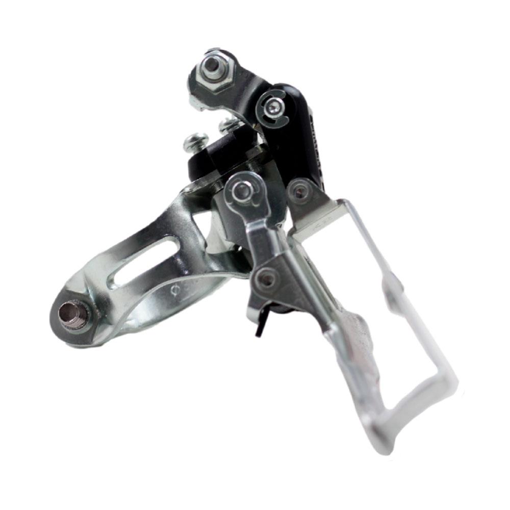 Cambio Dianteiro Triplo MTB Shimano Tourney FD-TY10 6 e 7 Velocidades Com Abraçadeira 31.8mm