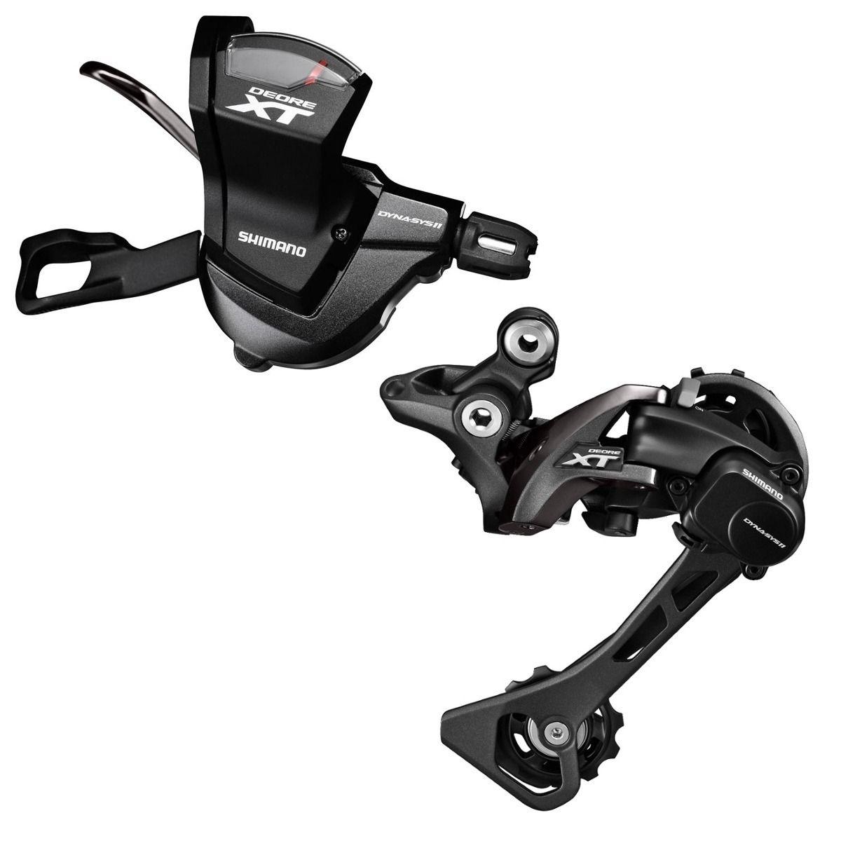 Câmbio + Passador Traseiro Shimano Deore XT M8000 11v Shadow Plus