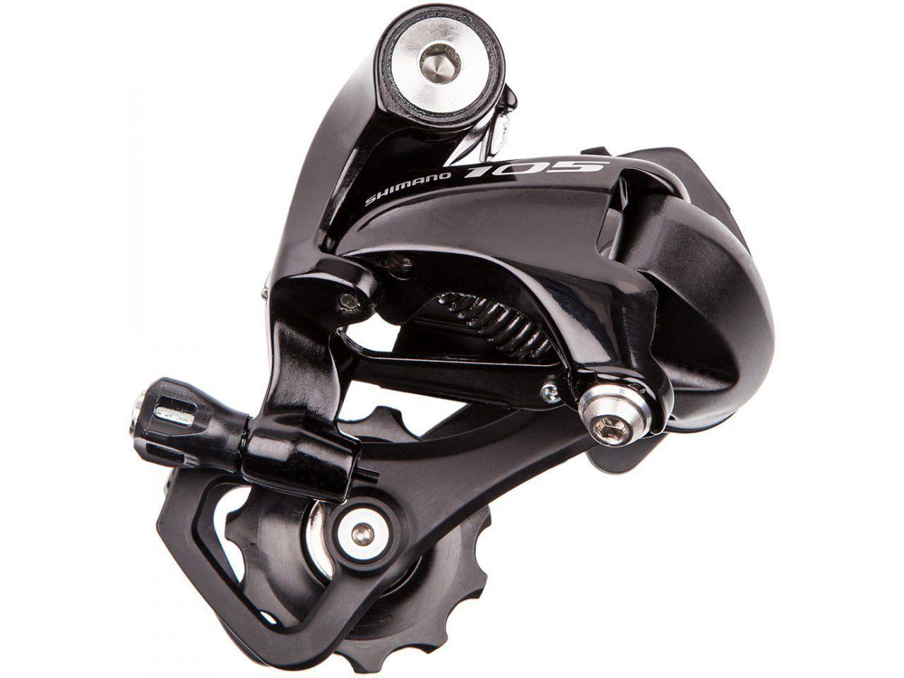 Cambio Traseiro Bicicleta Shimano 105 5800 Preto Cage Curto SS 11 velocidades