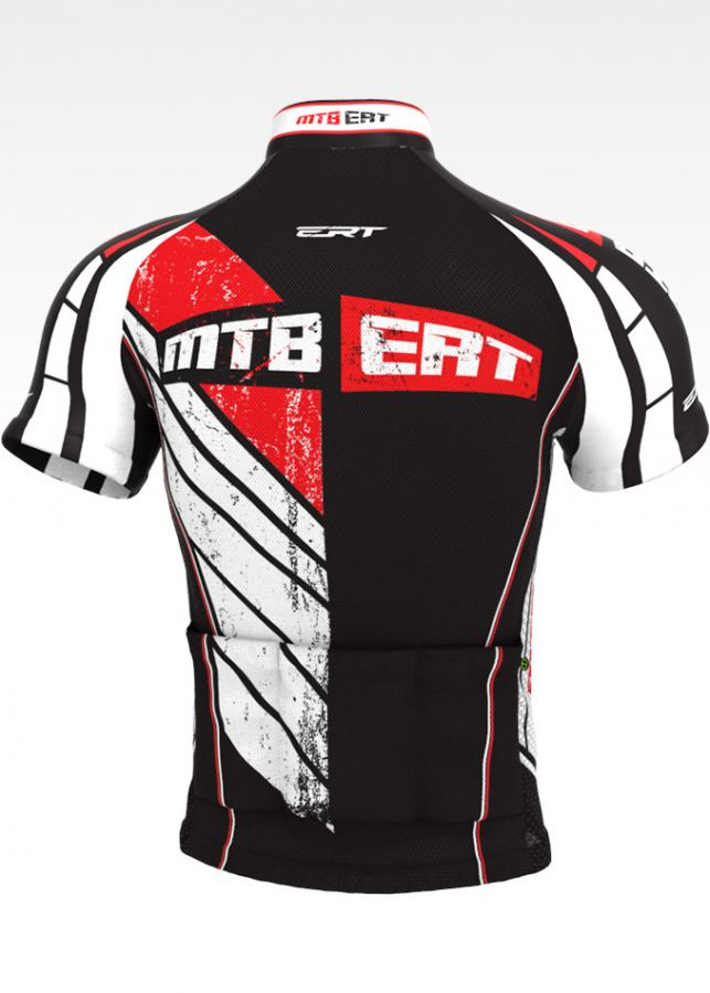Camisa de Ciclismo ERT Classic MTB  Vermelho - Vários Tamanhos