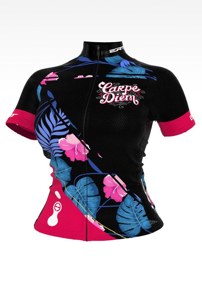 Camisa de Ciclismo Bike ERT Nova Tour Carpe Diem - Vários Tamanhos
