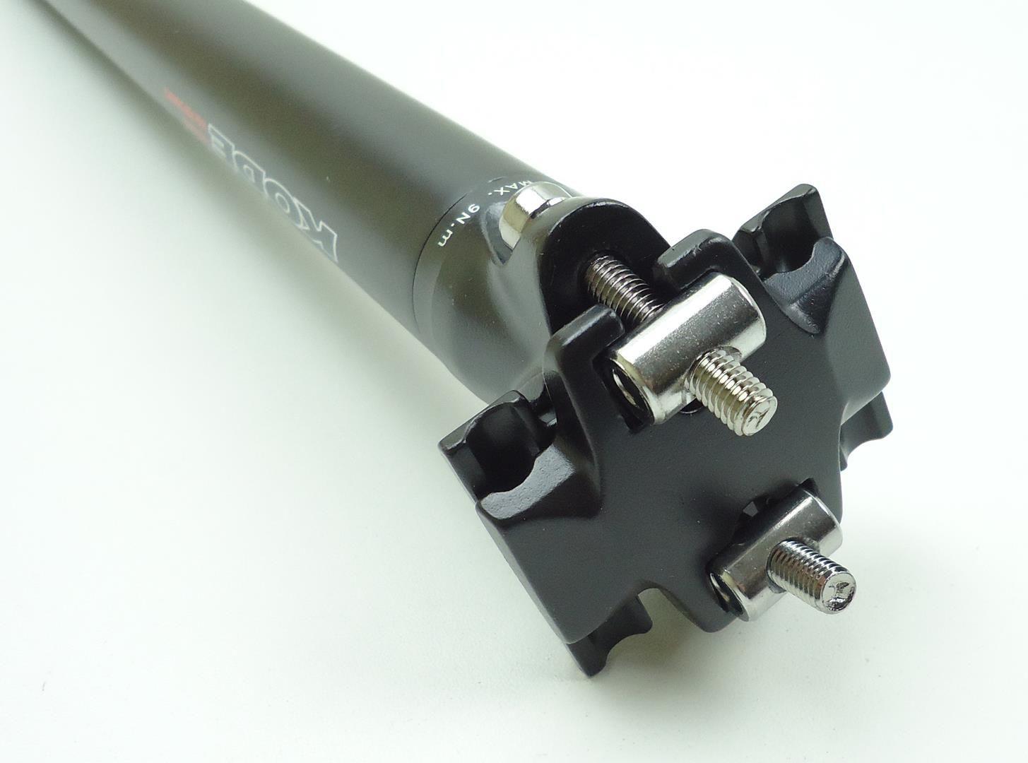Canote Bicicleta Kode 30.9mm 400mm em Aluminio Cor Preto com Microajuste