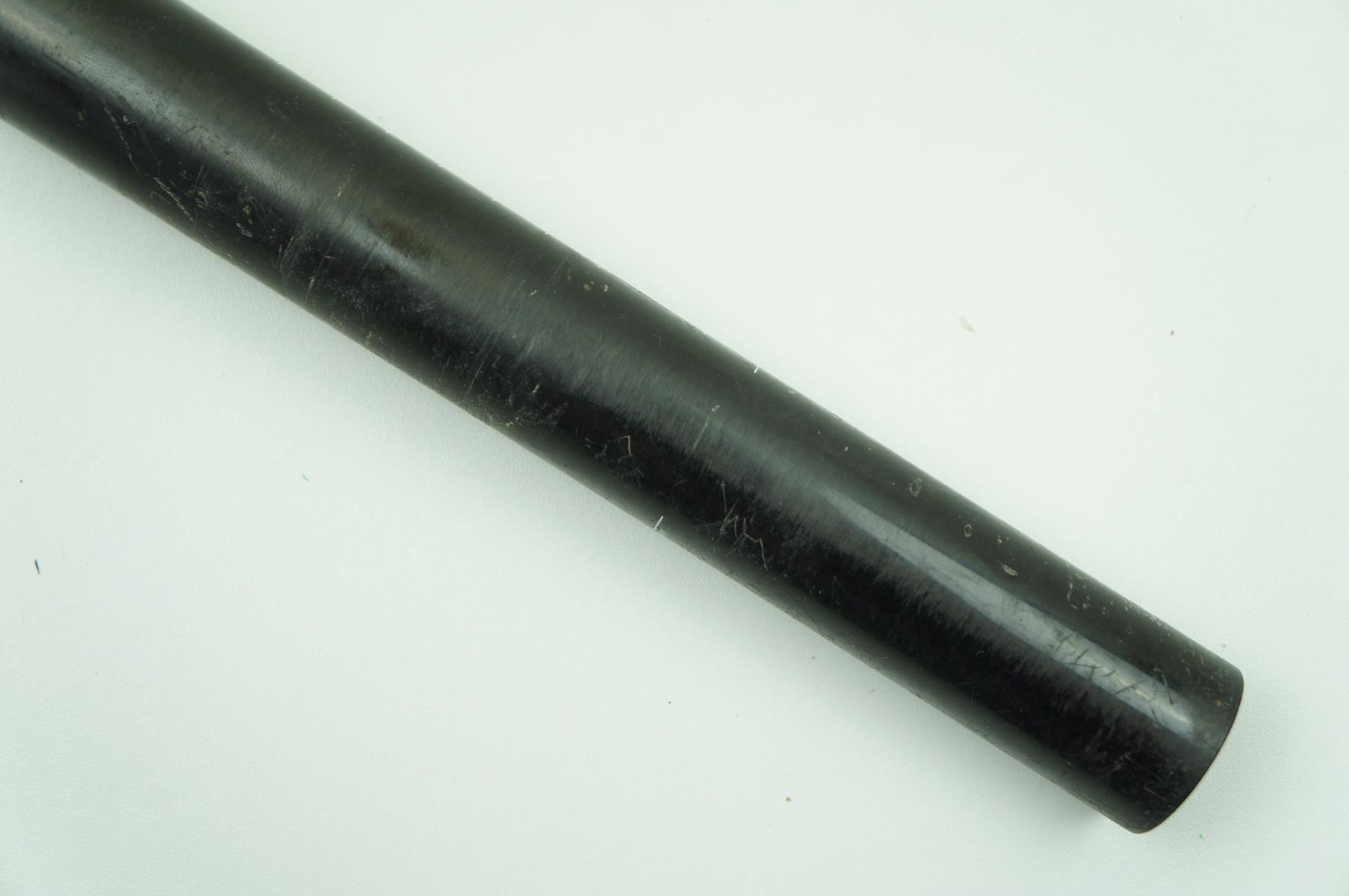 Canote de Selim Niner em Carbono 31.6 x 400mm Preto com Microajuste - USADO