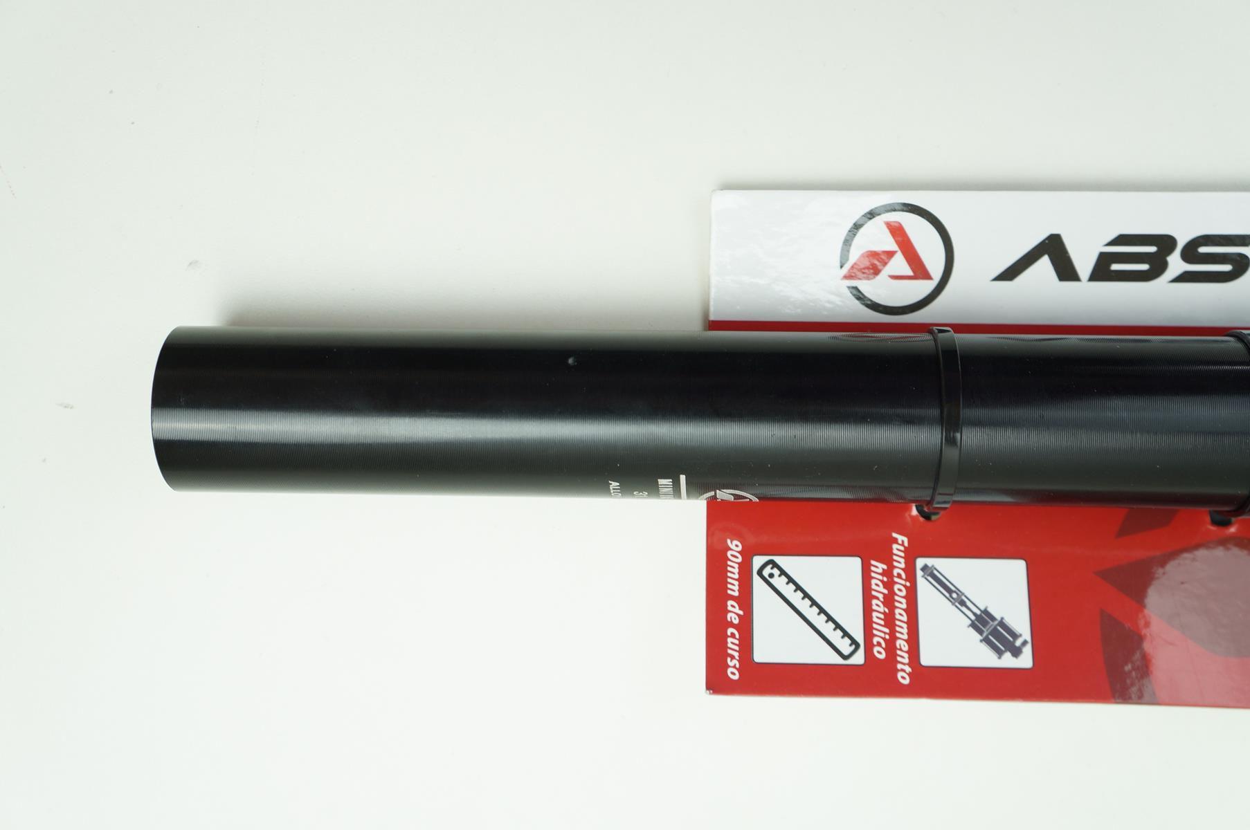 Canote Bicicleta MTB Absolute 31.6 X 370mm Telescópico Retrátil Preto