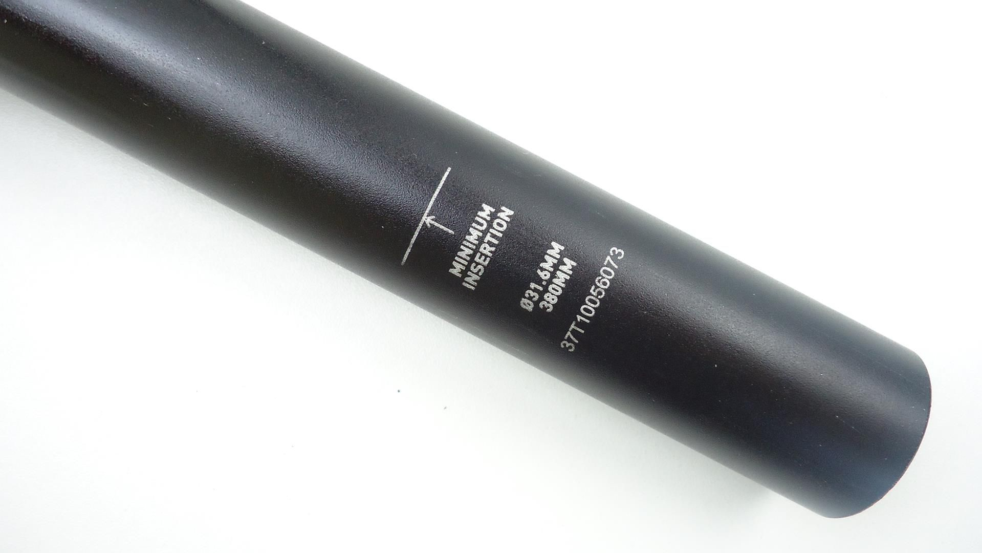 Canote MTB Rock Shox Reverb 31.6 x 380mm Externo Telescópico Retrátil Preto - USADO
