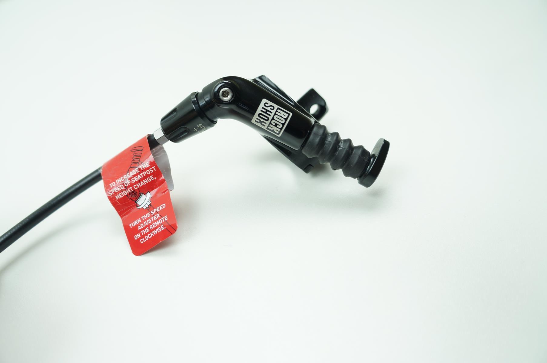 Canote MTB Rock Shox Reverb 31.6 x 380mm Telescópico Retrátil Preto