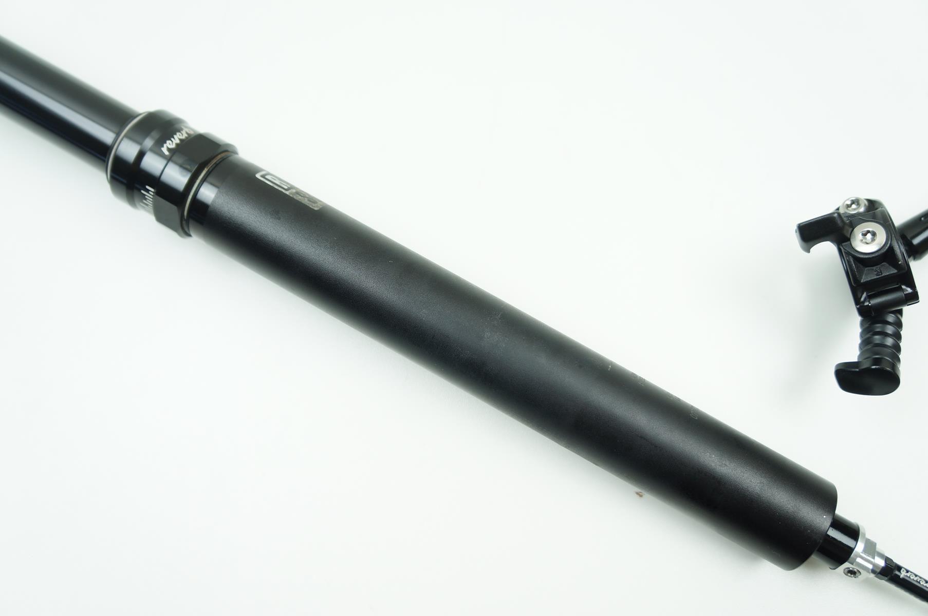 Canote MTB Rock Shox Reverb 31.6 x 440mm Telescópico Retrátil Preto - USADO