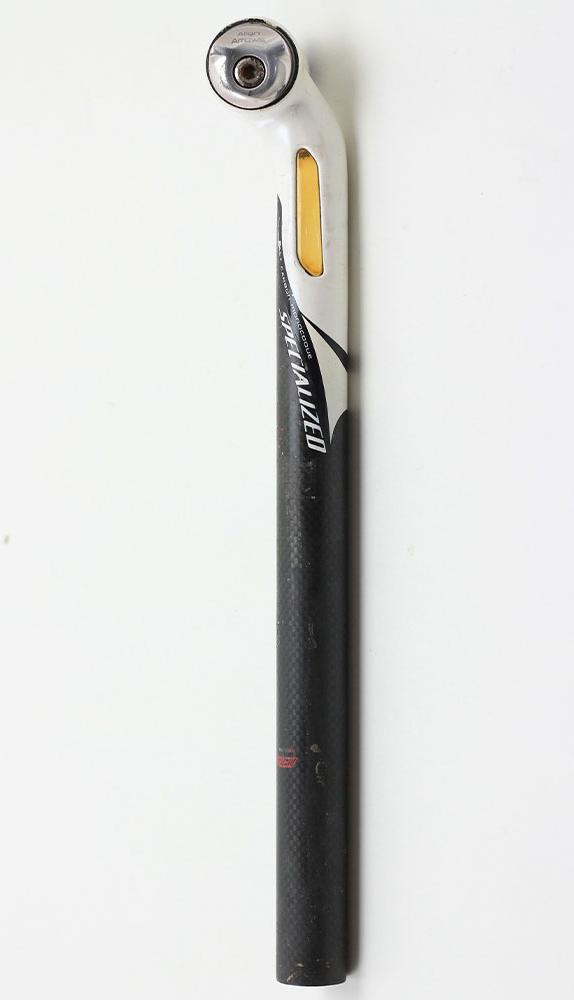 Canote Mtb Speed Specialized 27.2mm 350mm Setback Em Carbono 216g - USADO