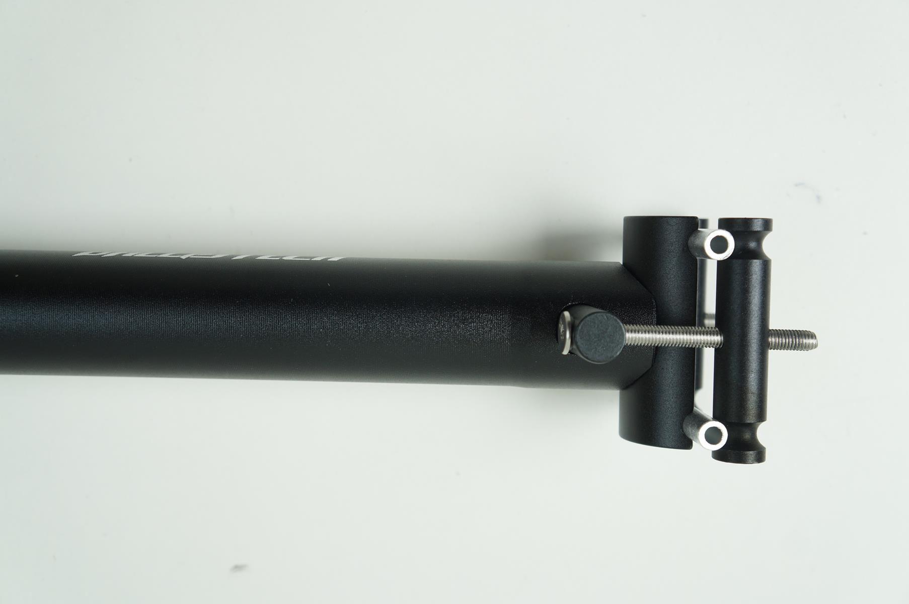 Canote Selim Vicinitech 31.6 400mm com Microajuste cor Preto 265 gramas