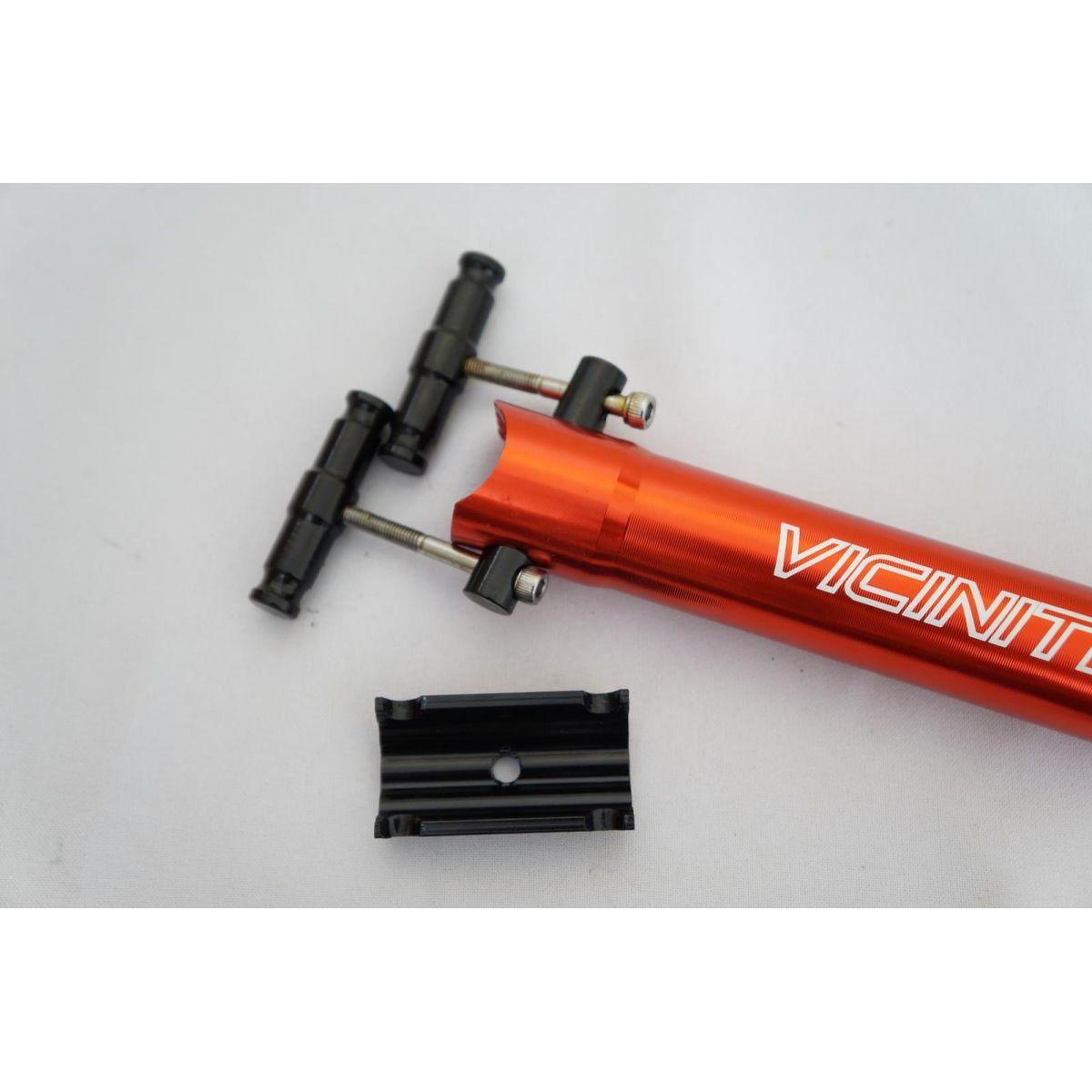 Canote Selim Vicinitech 31.6 400mm com Microajuste cor  Vermelho