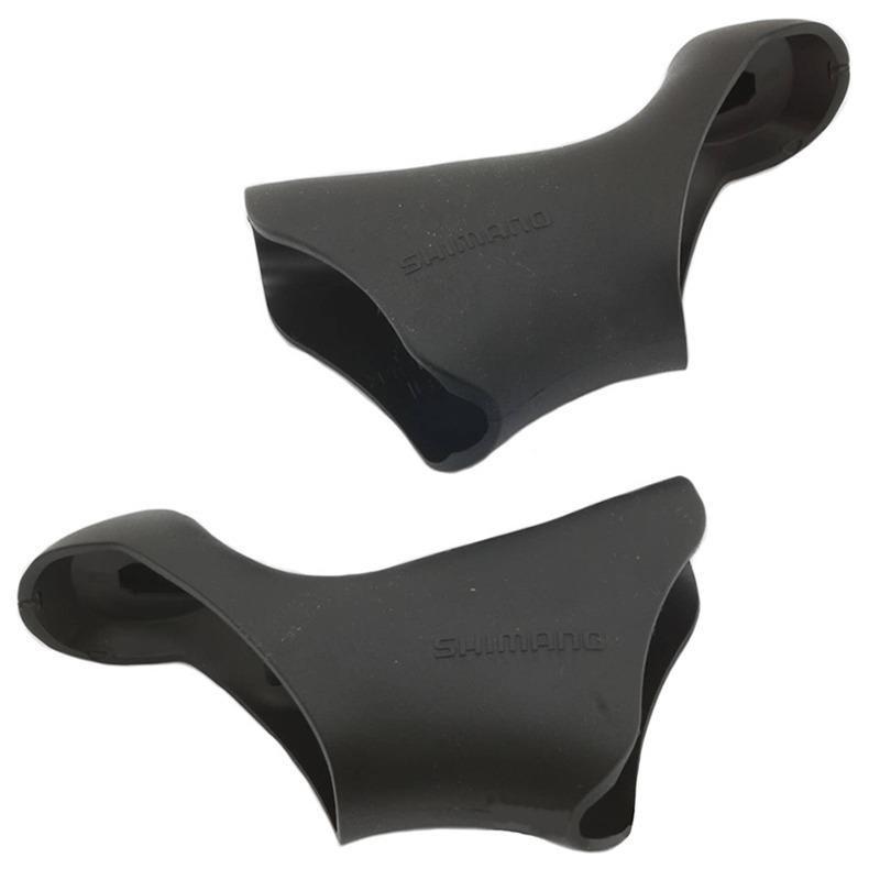 Capa Borracha para STI Passador Shimano Tiagra 4600 de 10 velocidades cor Preto