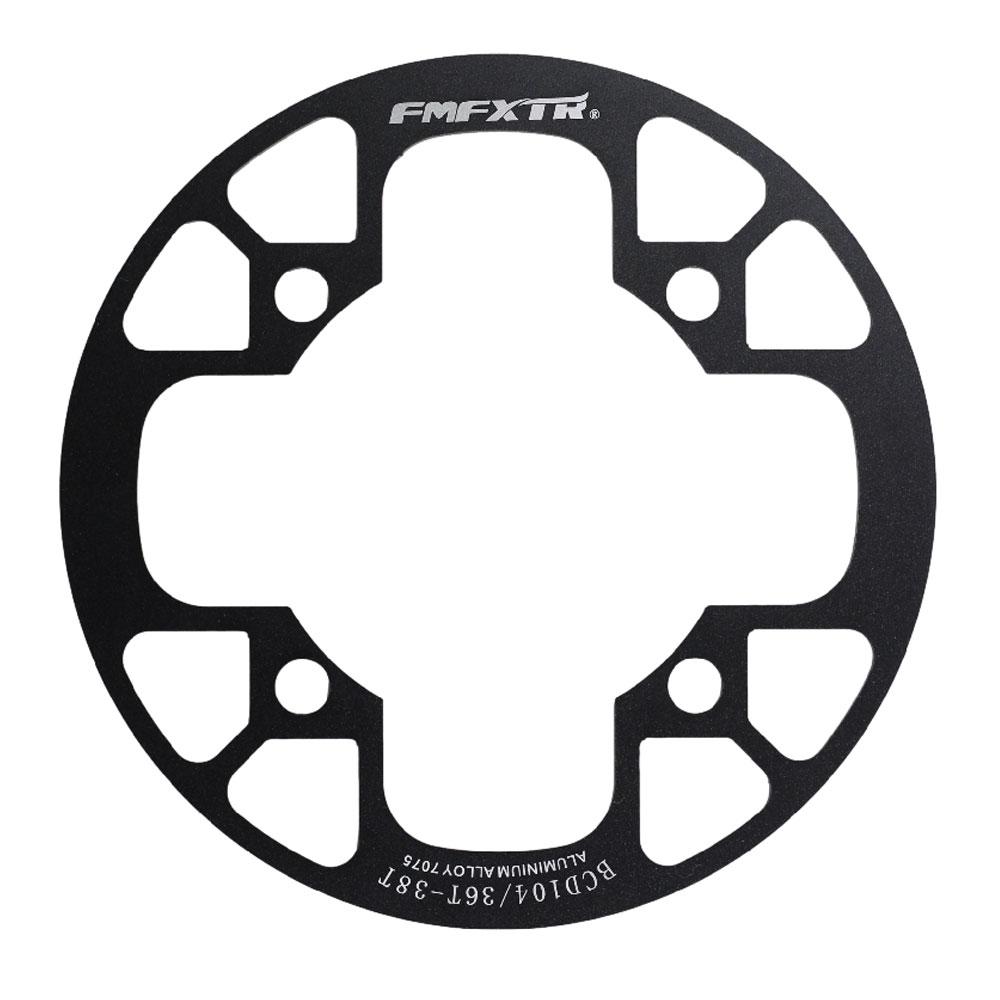 Capa Proteção de Coroa e Corrente Bicicleta MTB BCD 104 36 a 38 Dentes
