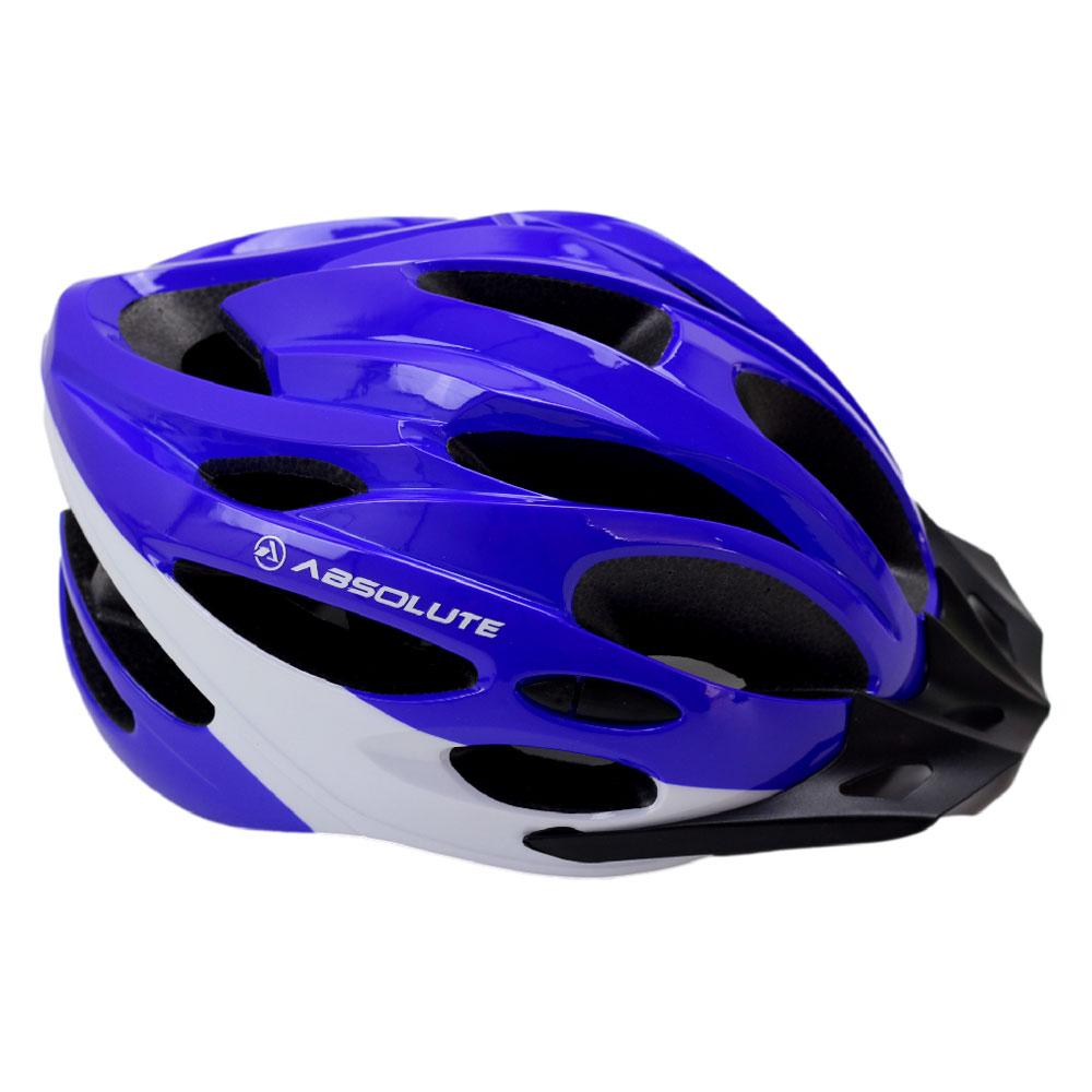 Capacete Bicicleta Absolute Nero Tamanho P/M/G Speed ou MTB com LED Sinalizador