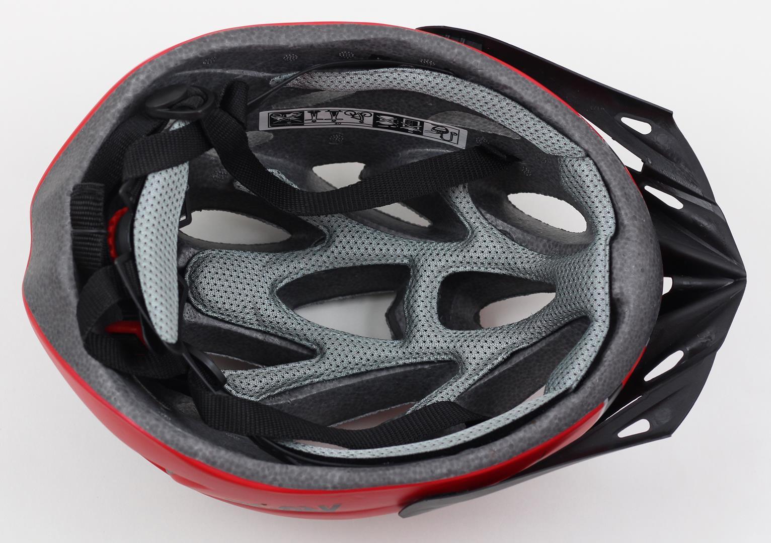 Capacete Bicicleta Argon TA-16 Tamanho G 57-62cm Speed ou MTB com LED Sinalizador