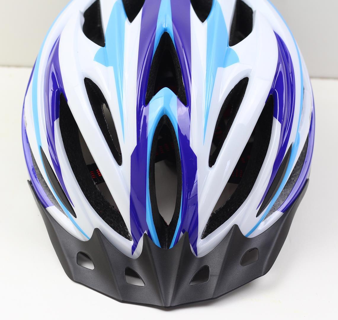 Capacete Bicicleta Argon Tamanho G 57-62cm Speed ou MTB com LED Sinalizador