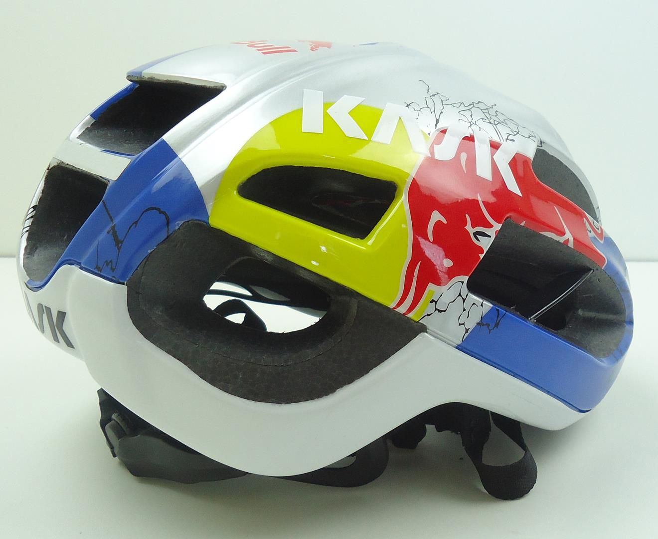 Capacete Bicicleta Desenho Red Bull Protone Tamanho M ou G
