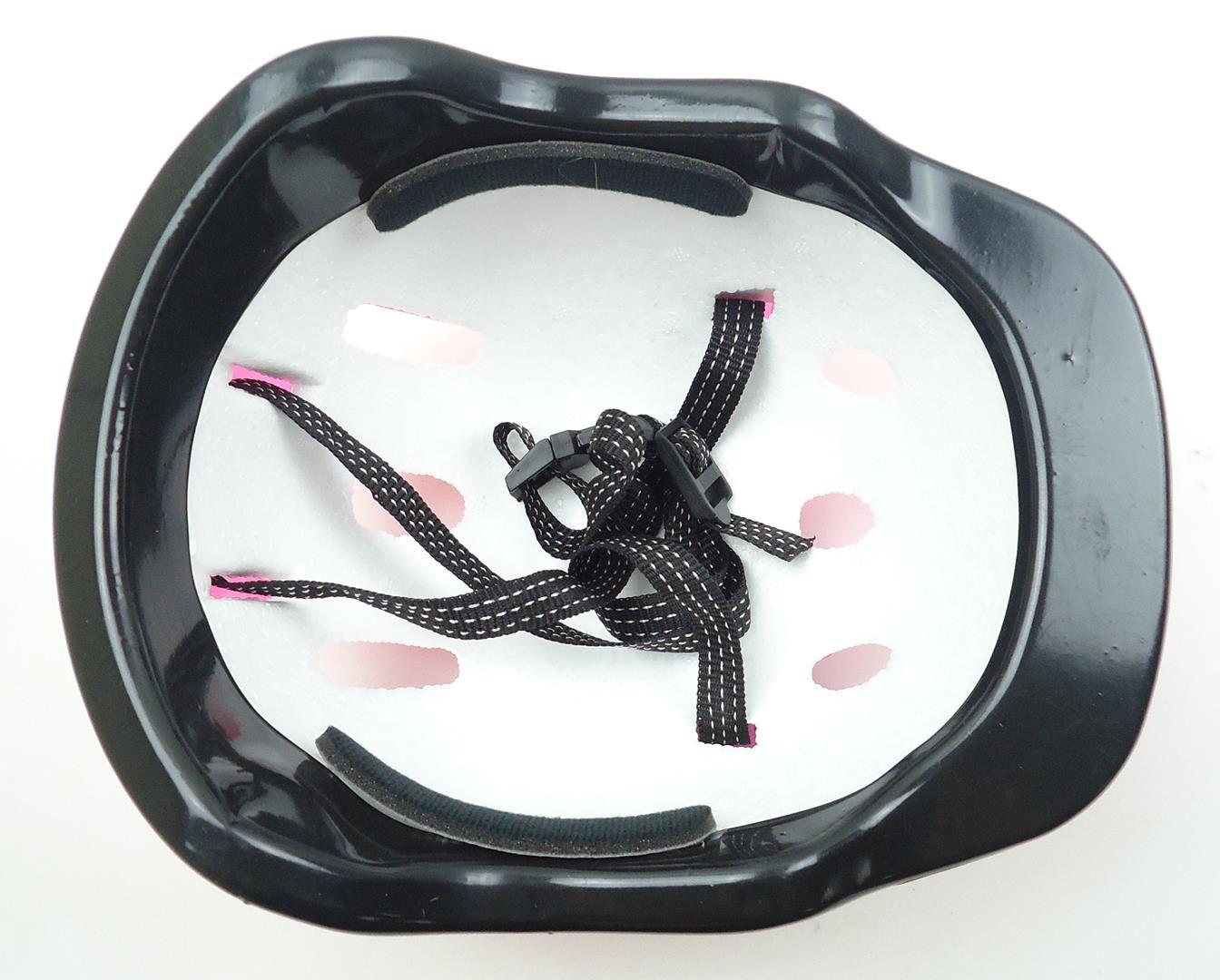 Capacete Bicicleta Infantil GTS Cor Rosa Para Meninas 6 à 10 anos 52-56cm