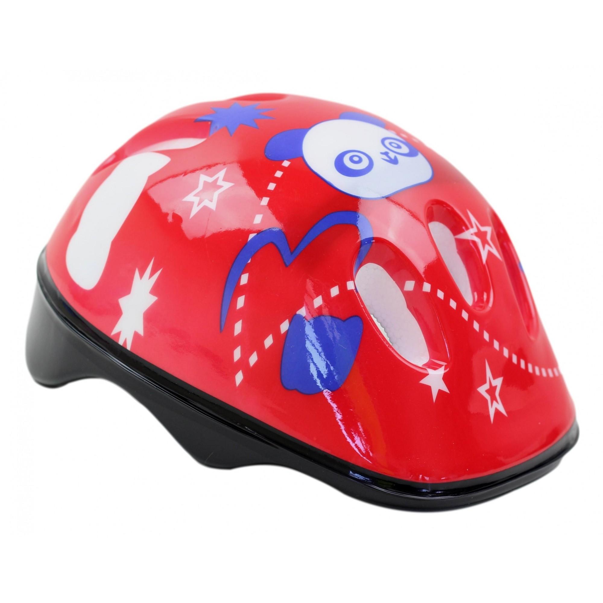 Capacete Bicicleta Infantil GTS Cor Vermelho Para Meninas 6 à 10 anos 52-56cm