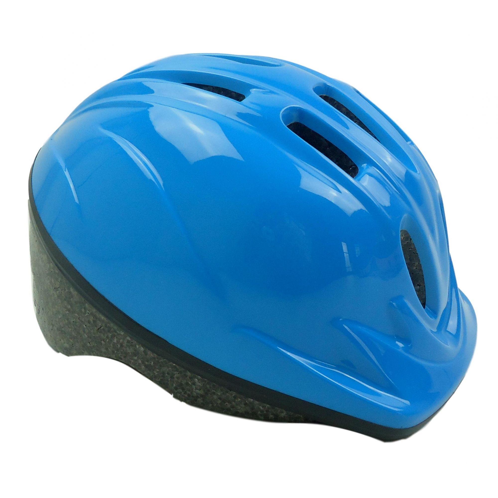 Capacete Bicicleta Infantil Kidzamo Cor Azul Para Meninos 4 à 8 anos 48-52cm
