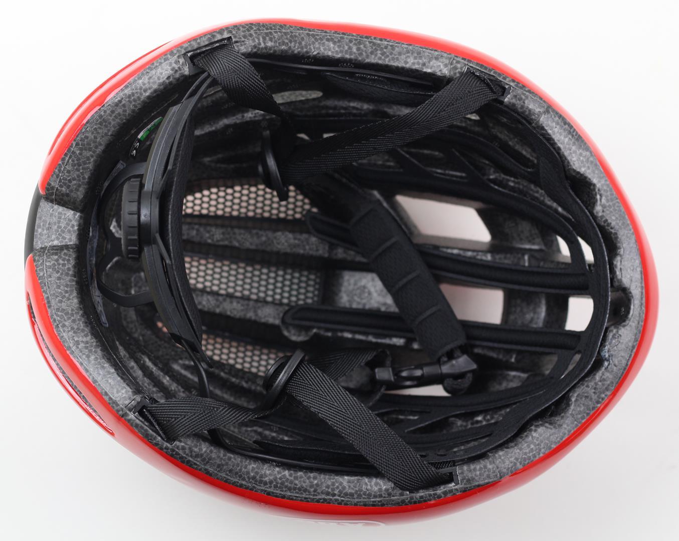 Capacete Bicicleta Mtb ou Speed Vermelho ABUS Tamanho M 54-60