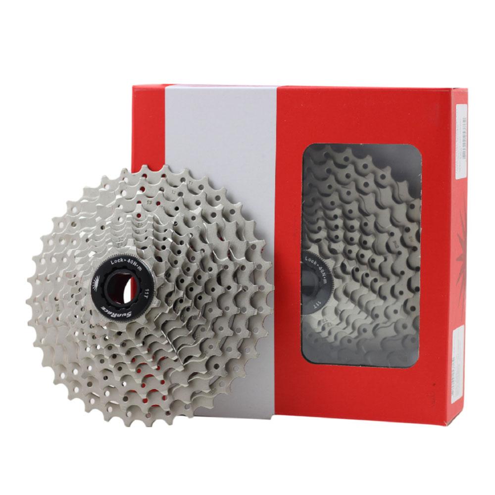 Cassete Bicicleta MTB Sunrace MS1 11-36 10 Velocidades Padrão Shimano