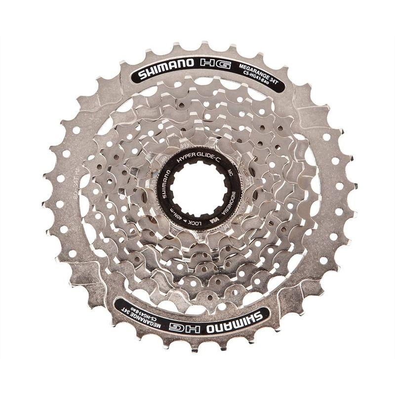 Cassete Bicicleta Shimano Alivio CS-HG41-8 11-34 8 Velocidades
