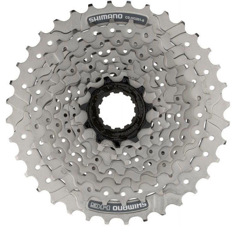 Cassete Bicicleta Shimano Altus Hg201-9 11-36 dentes 27 Velocidades