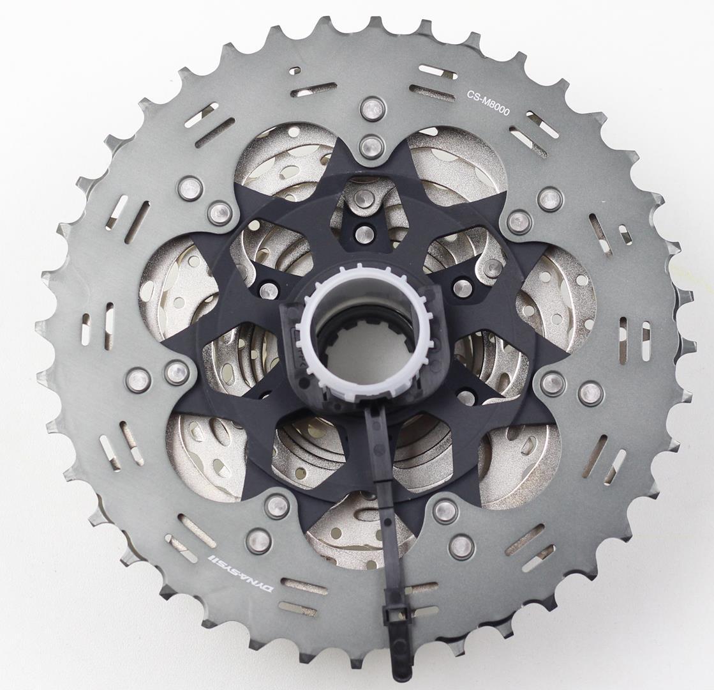 Cassete Bicicleta Shimano Deore XT M8000 11-40 dentes 11 Velocidades Dyna Sys