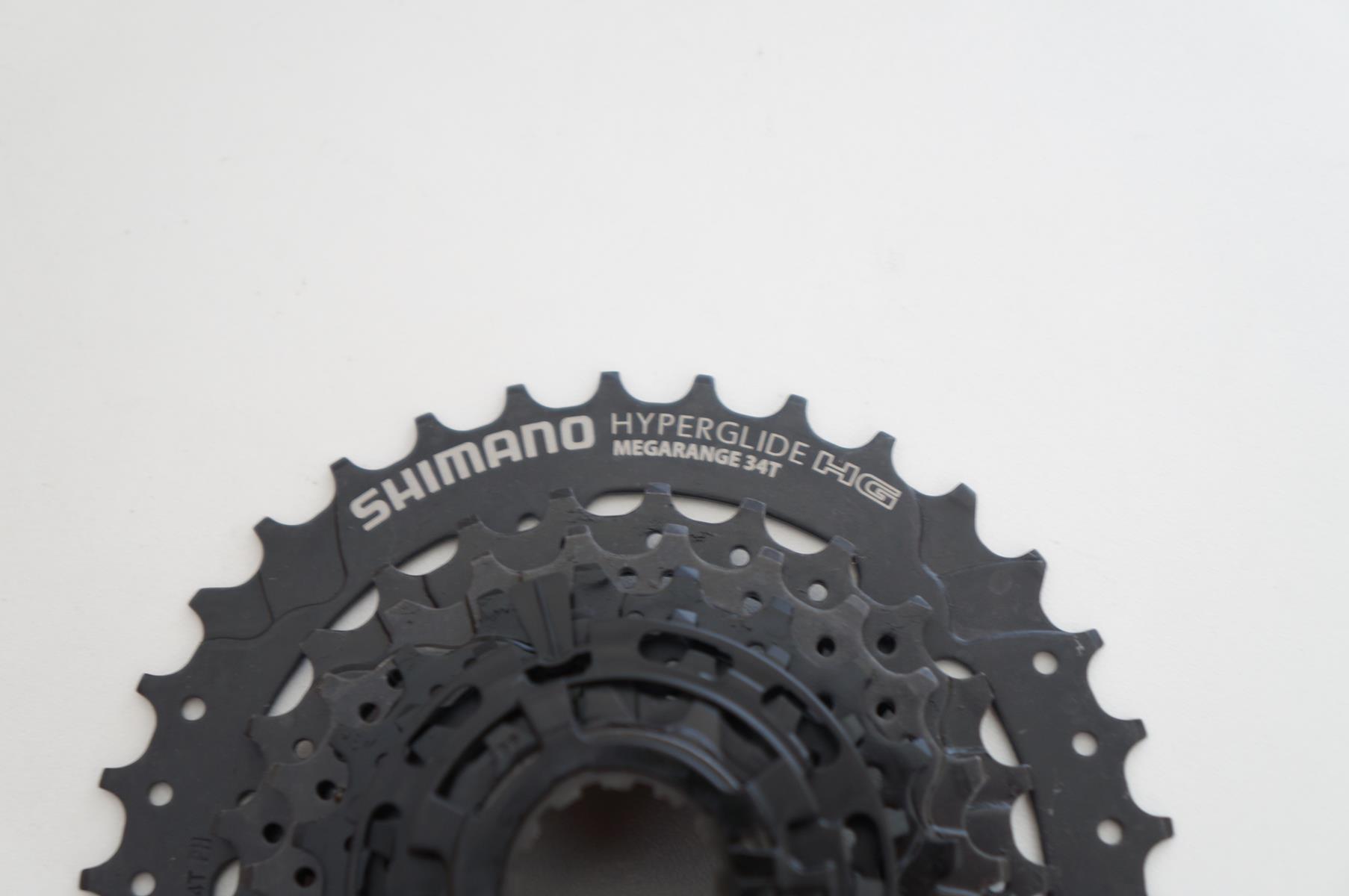 Cassete Bicicleta Shimano Megarange CS-HG31-8 11-34 8 Velocidades