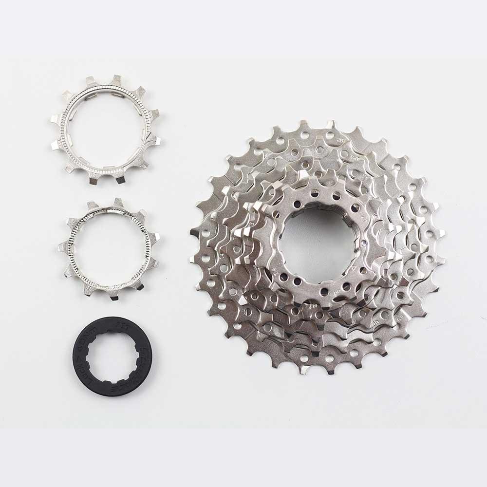 Cassete Bicicleta Speed Sunrace R86 11-28 dentes 8 Velocidades Padrão Shimano