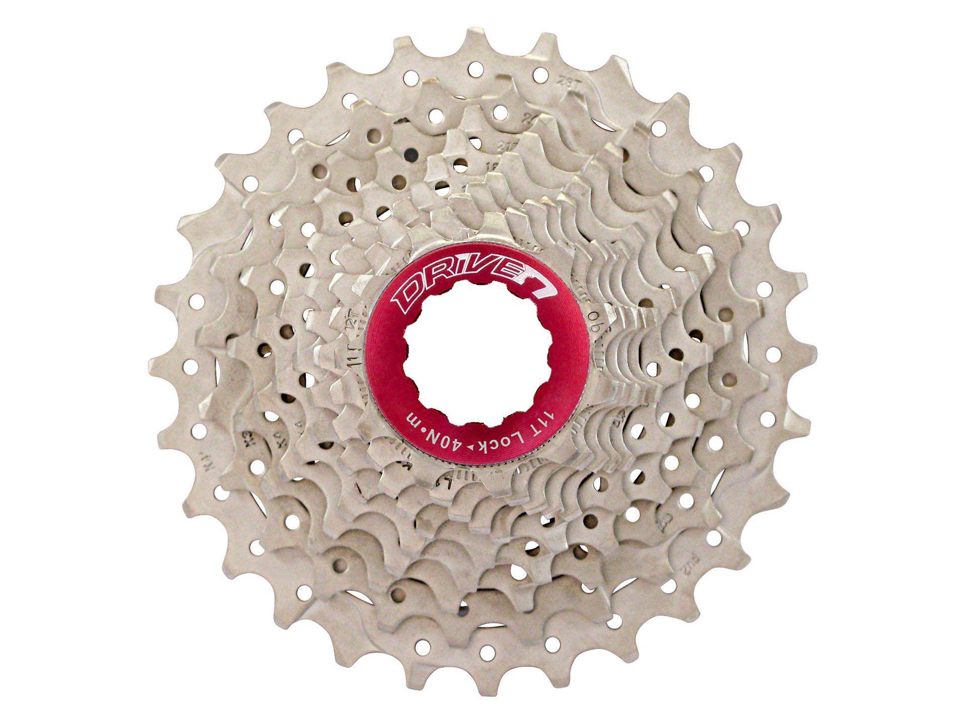 Cassete Bicicleta Speed Sunrace RX1 11-28 10 Velocidades Padrão Shimano