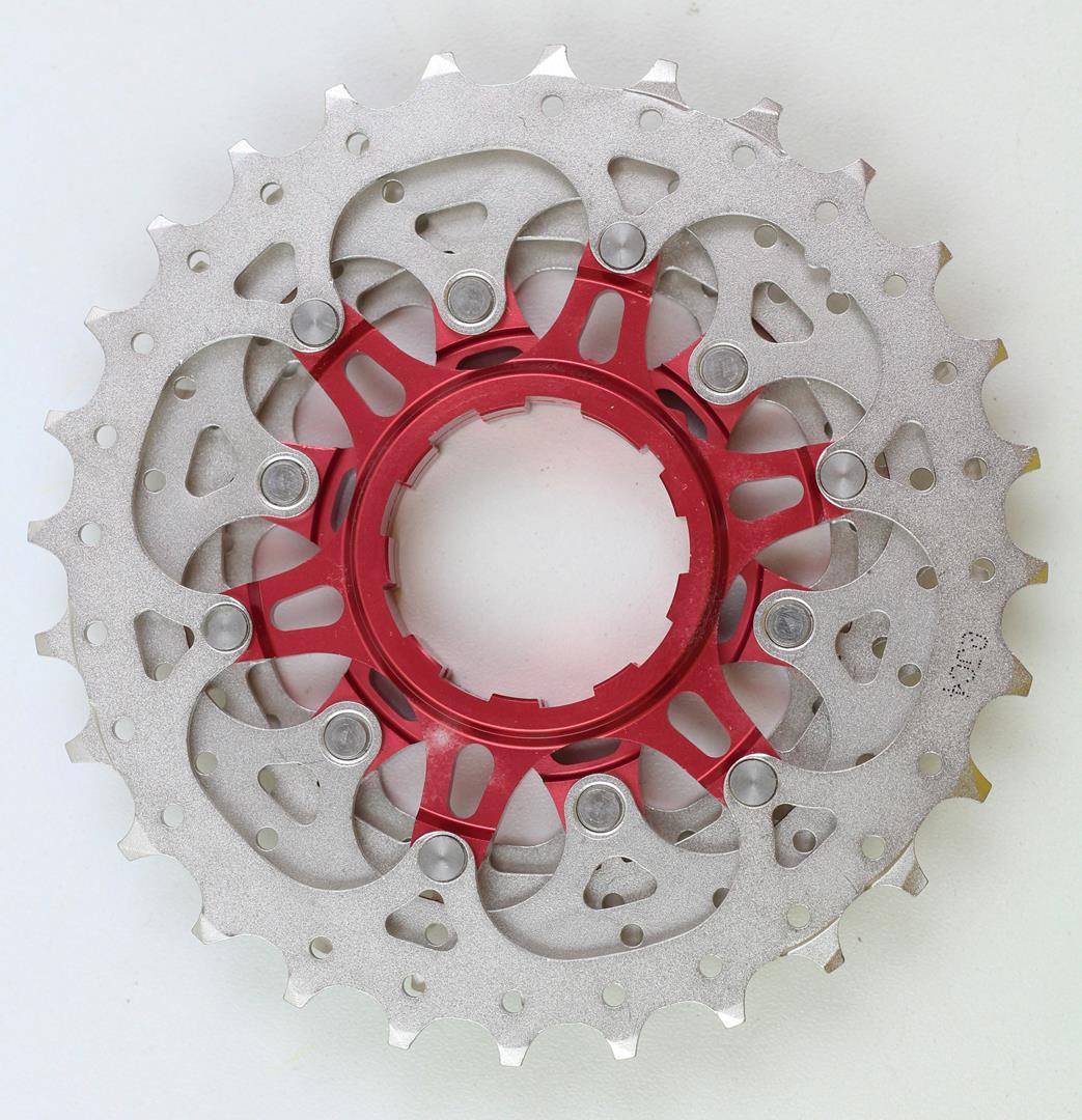 Cassete Bicicleta Speed Sunrace RX1 11-28 dentes 11 Velocidades Padrão Shimano