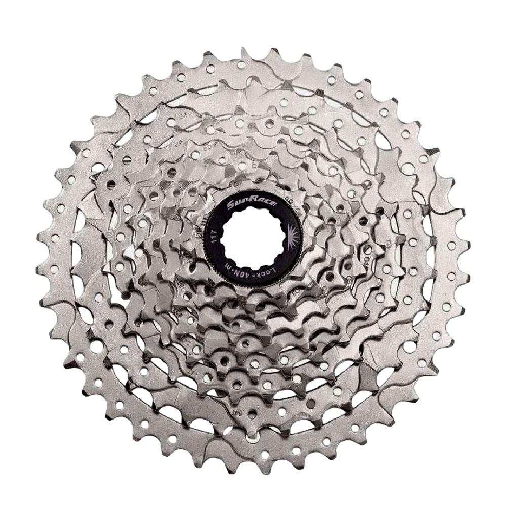Cassete Bicicleta Sunrace M980 11-40 dentes 9 Velocidades Padrão Shimano
