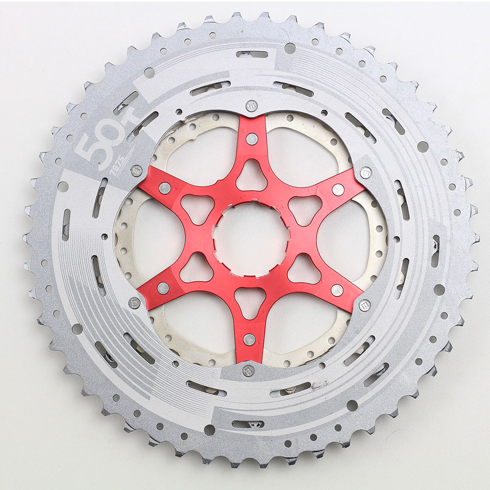 Cassete Bicicleta Sunrace MZ90 12 Velocidades 11-50 dentes padrão Shimano - USADO