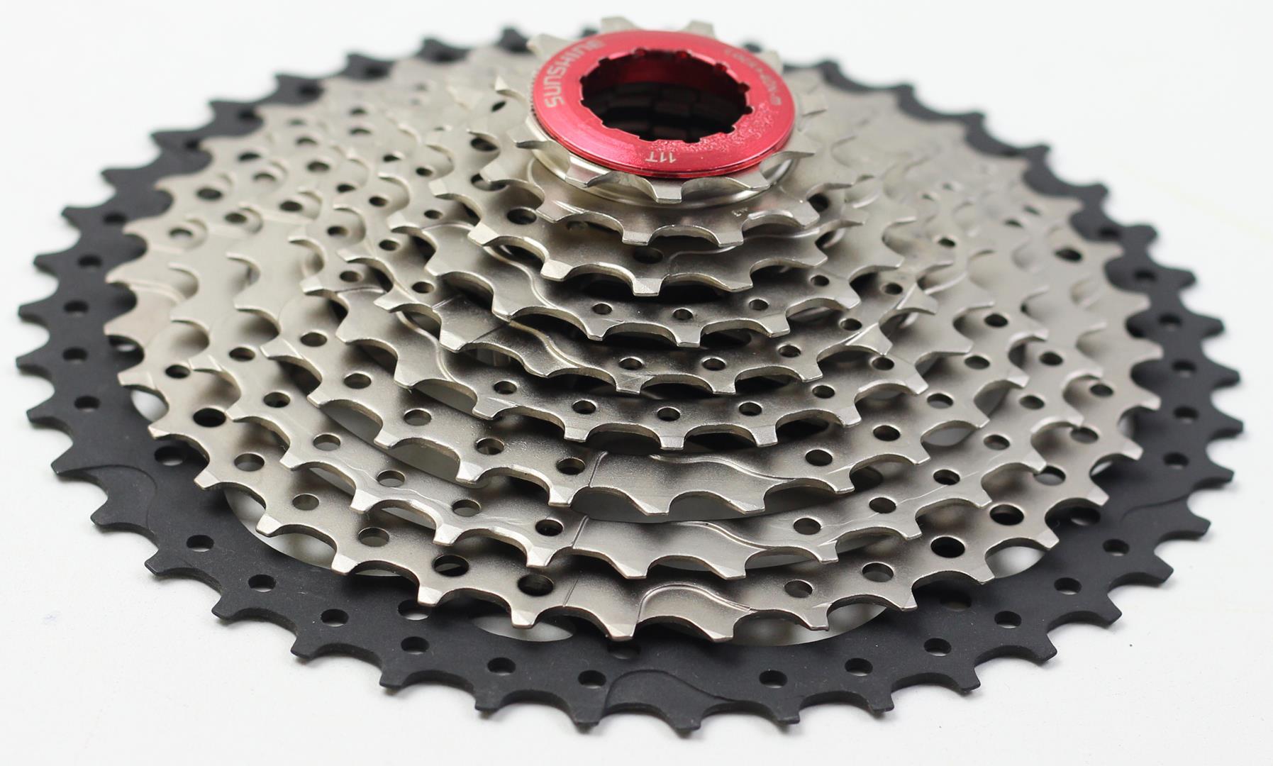 Cassete Bicicleta Sunshine 11-42 dentes 10 Velocidades Padrão Shimano