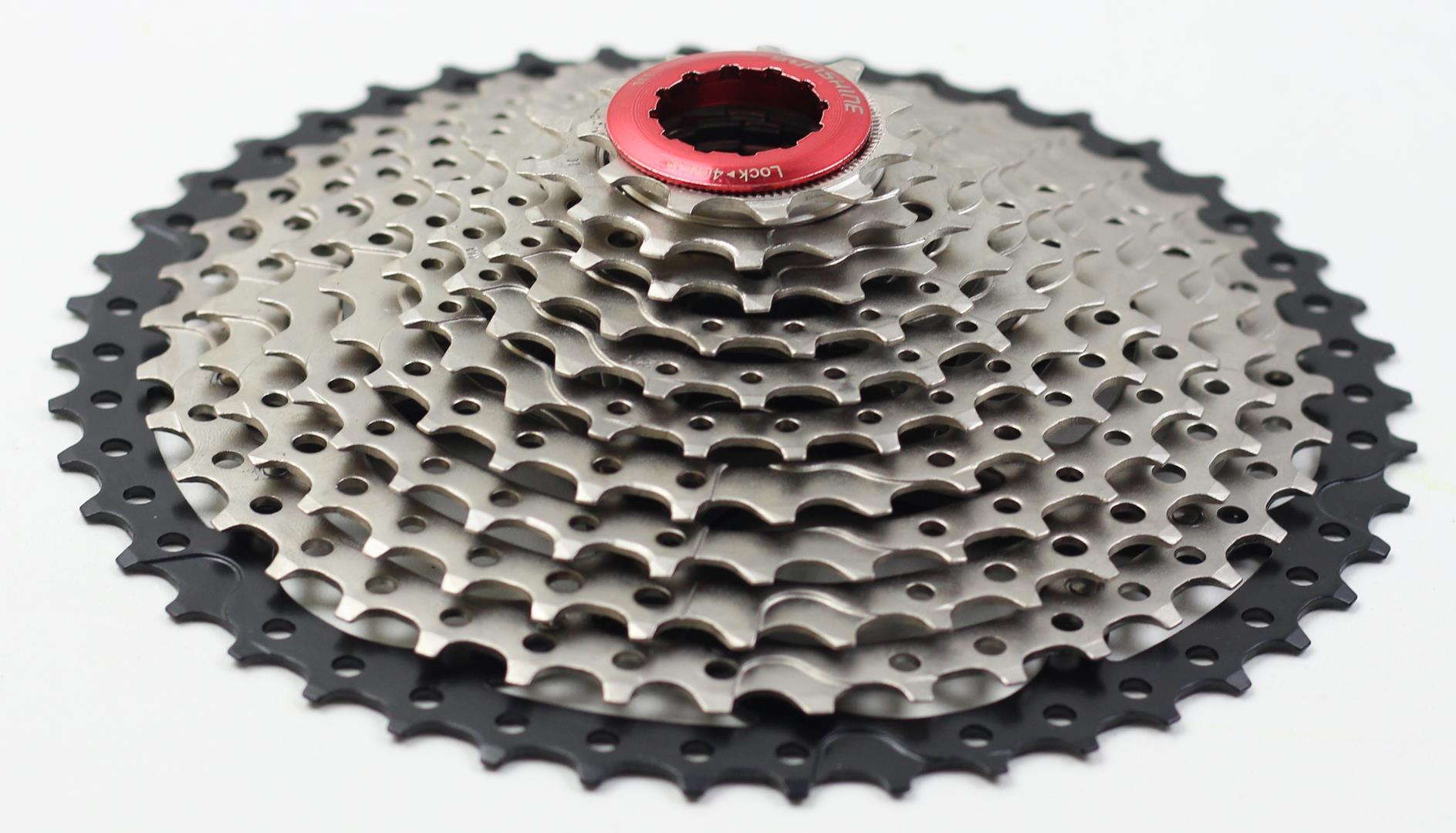 Cassete Bicicleta Sunshine 11 Velocidades 11-46 dentes padrão Shimano
