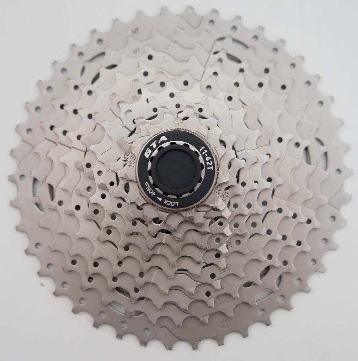 Cassete para Bicicletas MTB GTA 11-42 10 velocidades Serve em Shimano