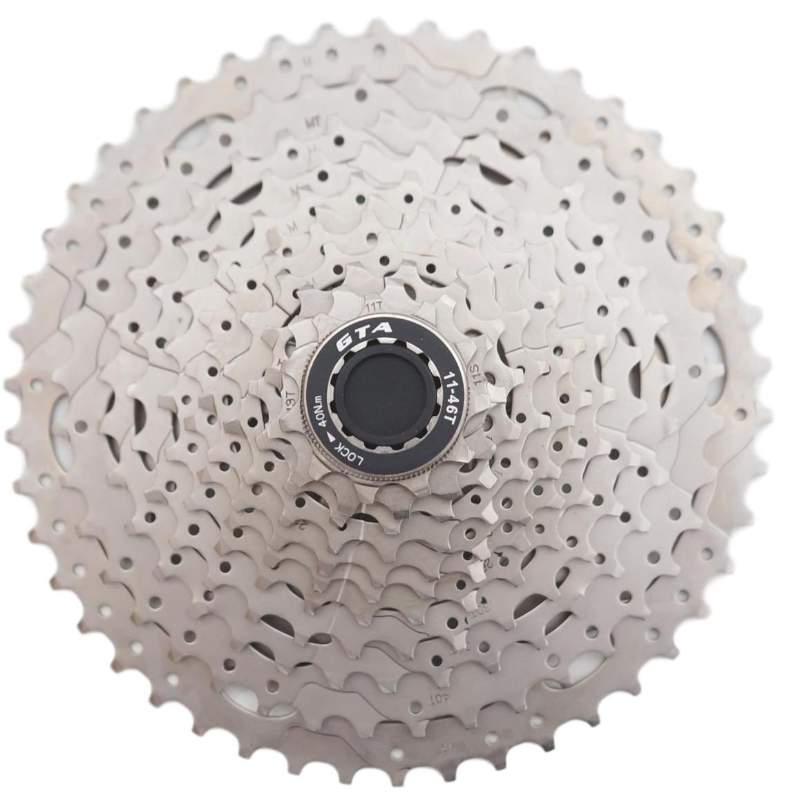 Cassete para Bicicletas MTB GTA 11-46 11 velocidades Serve em Shimano