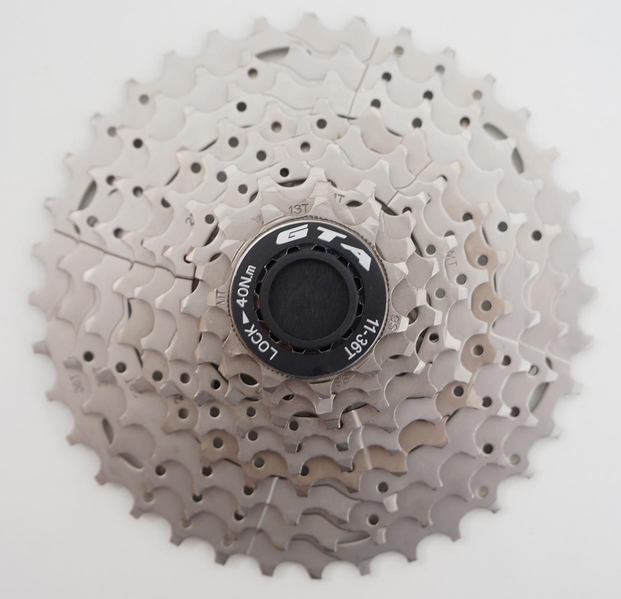 Cassete para Bicicletas MTB GTA K9 11-36 9 velocidades Serve em Shimano