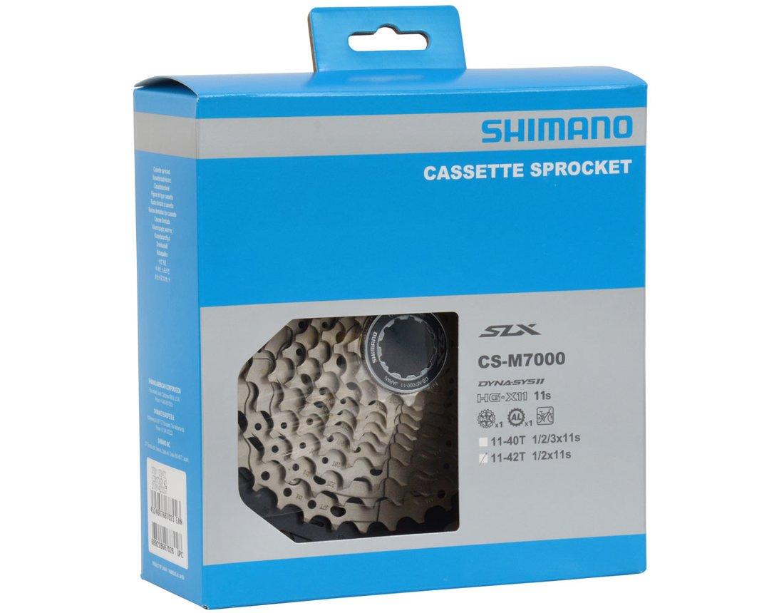 Cassete Shimano SLX M7000 11-42 11 Velocidades Dyna Sys