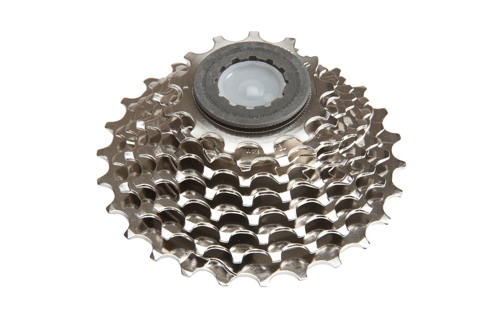 Cassete Speed Shimano Tiagra 12-25 Hg50-8 8 Velocidades Road