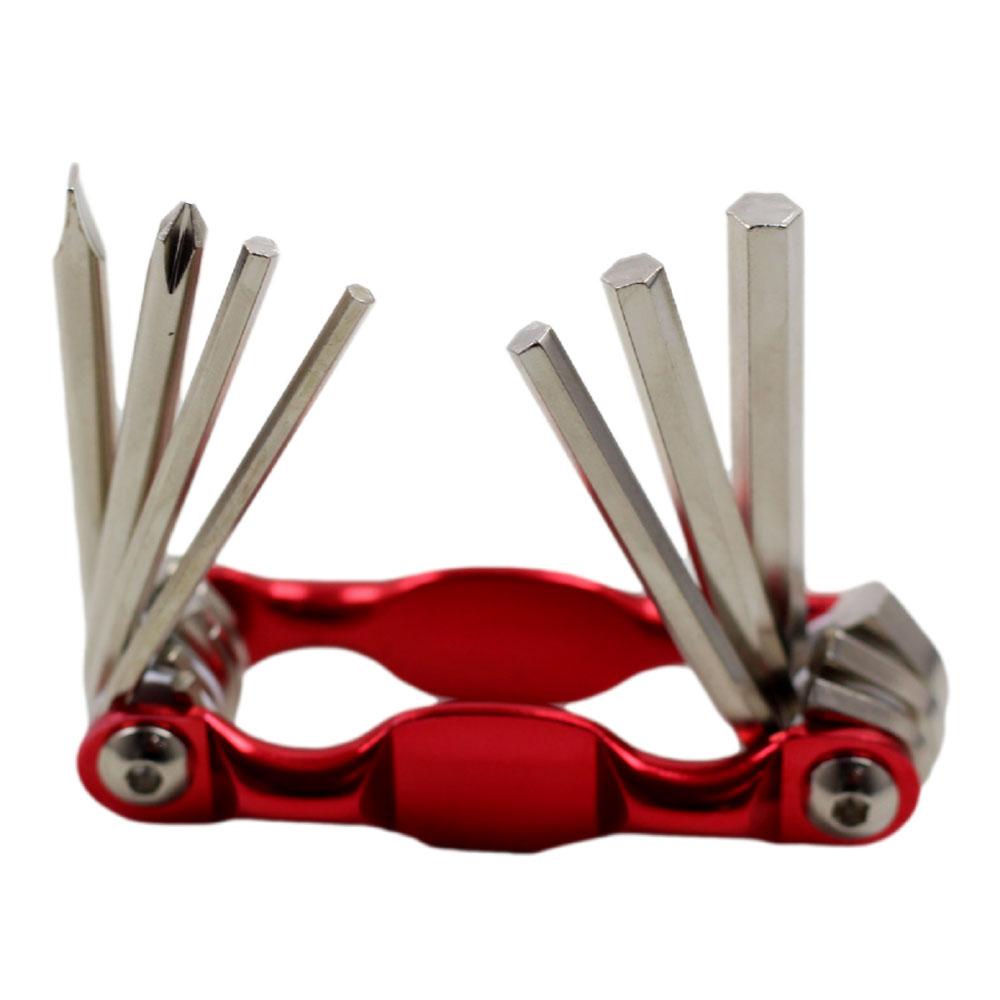 Chave Canivete Multi-função Para Bicicletas 7 Funções com Allen Fenda e Phillips