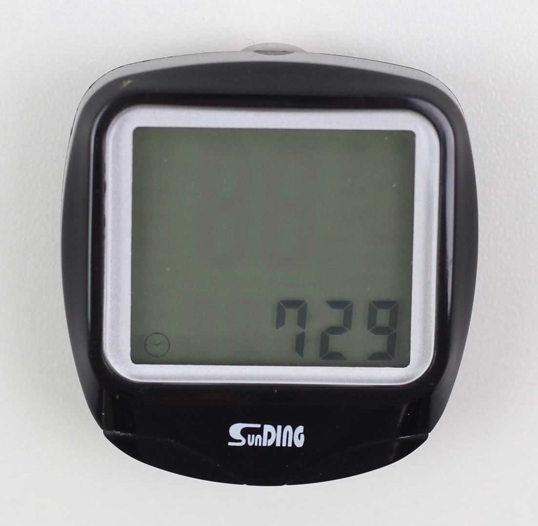 Ciclocomputador Velocimetro Bicicleta Sunding WS-568 Com Fio 15 funções