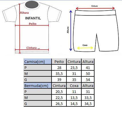 Conjunto de Ciclismo Infantil Camisa + Bermuda Stickers Verde - Vários Tamanhos
